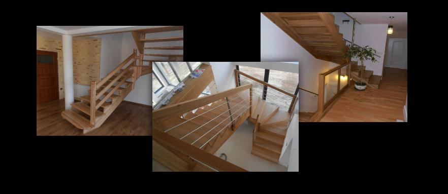 Schody drewniane Podkarpackie