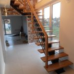 Schody na konstrukcji stalowej - Giedlarowa