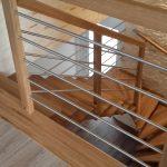 schody - Pysznica, Nisko